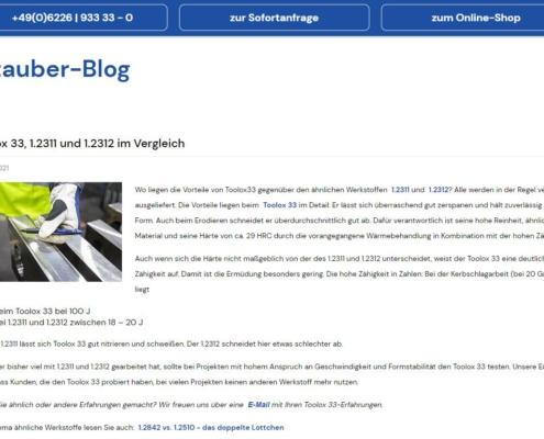 Blog zum Thema Stahl