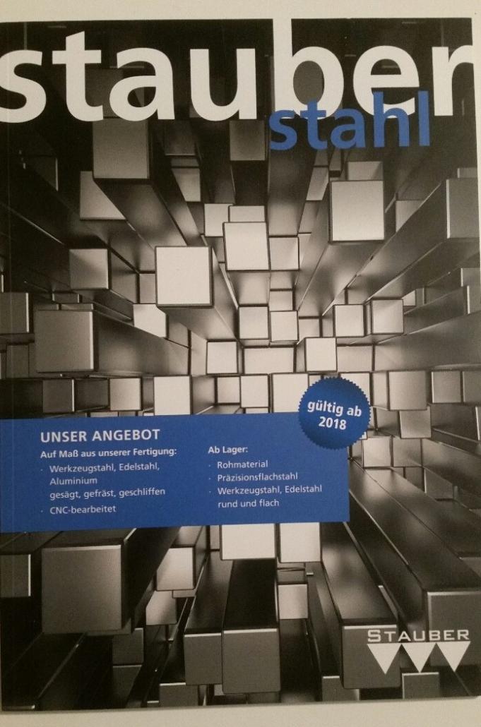 Katalog der Stauber GmbH