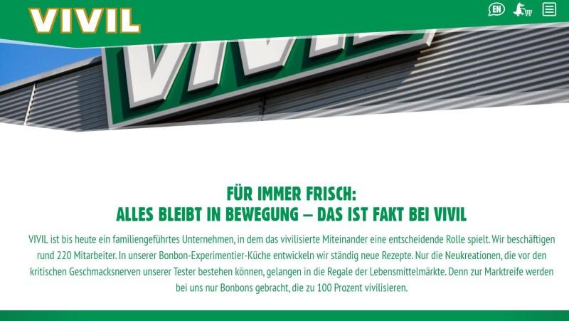 Web Relaunch Vivil