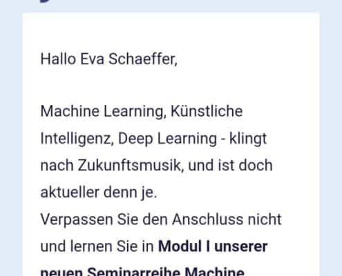 E-Mails automatisiert